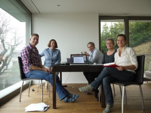 Board Meeting in Lucerne (CHE), October 2014 Pim Hoek (NED), Regula Seeholzer (CHE), Rui Martins (PRT), Anne-Marie Olsen (DNK), Veronika Pinter-Theiss (AUT)